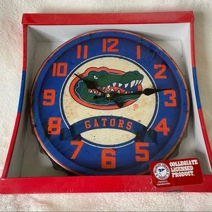 NWT Florida Gators Battery Powered Clock